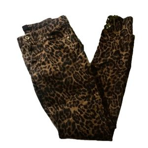 """H&M"" Cheetah Print Ladies Pants."